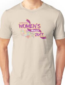Womens March 2017 Support Unisex T-Shirt