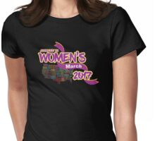 Womens March 2017 Support Womens Fitted T-Shirt
