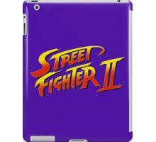 Street Fighter II 2 HD logo iPad Case/Skin