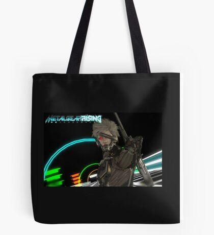 Metal Gear Rising: Revengance Raiden Tote Bag