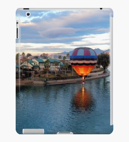 Balloon In The Channel iPad Case/Skin