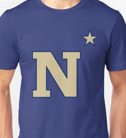 Navy Midshipmen Logo Unisex T-Shirt