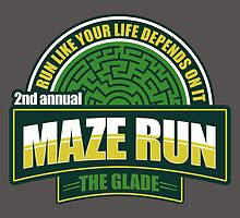 Maze Run 5K by fishbiscuit