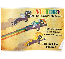 Fallout Equestria: Royal Equestrian Army Poster Poster