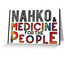 Nahko & Medicine for the People Fan Art Greeting Card