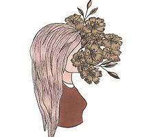 flower face by megmccarthy