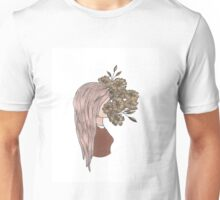 flower face Unisex T-Shirt
