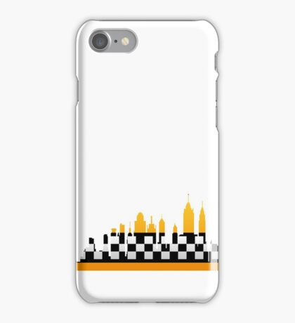 New York City Taxi Pattern iPhone Case/Skin