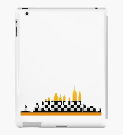 New York City Taxi Pattern iPad Case/Skin