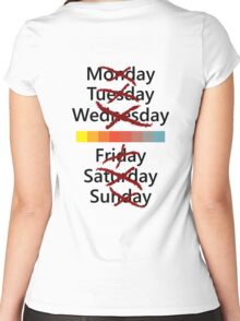 Thursday or nothing Women's Fitted Scoop T-Shirt