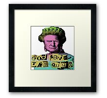 Donald J Trump God Save The Queen - Sex Pistols Framed Print