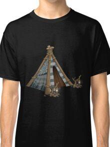 Glitch furniture chassis tipi tent Classic T-Shirt