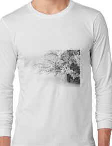 Mount Catria under the snow 10 Long Sleeve T-Shirt