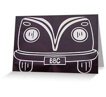 BBC VW Greeting Card