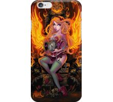 Burning Angel Pin Up iPhone Case/Skin