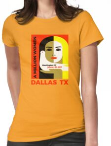 Women's March on Dallas, Texas January 21, 2017 Womens Fitted T-Shirt