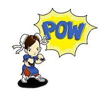 READY? LETS FIGHT! Chun Li PUNCH!  by Bantambb