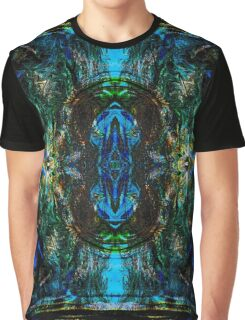 Psychedelic Blues Graphic T-Shirt