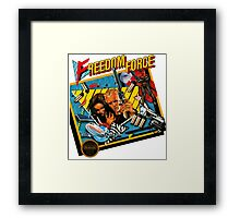 Freedom Force - NES Box Art Framed Print