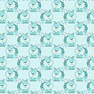 Ice Cat Pattern by SaradaBoru