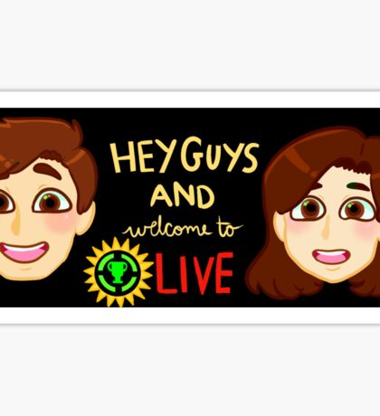 Welcome to GTLive! Sticker