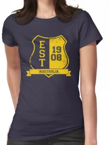 Australian Rugby League: Established Shield Womens Fitted T-Shirt