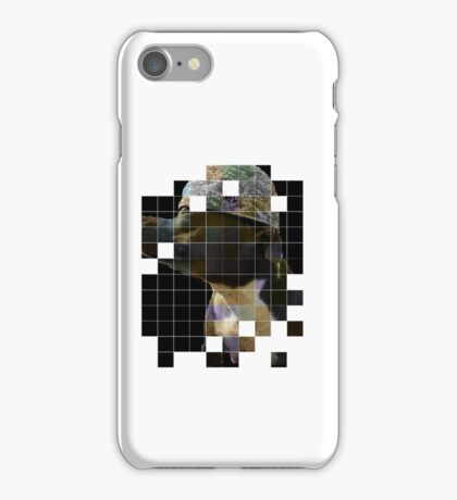Pitbull in baseball cap iPhone Case/Skin