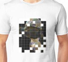 Pitbull in baseball cap Unisex T-Shirt