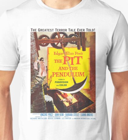 Vintage poster - The Pit and the Pendulum Unisex T-Shirt