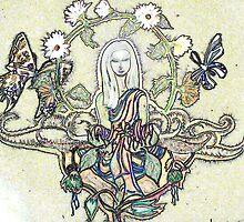 Chalk Meditation #7 • August 2005 by Robyn Scafone