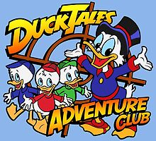 DuckTales Adventure Club by Ellador