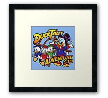 DuckTales Adventure Club Framed Print