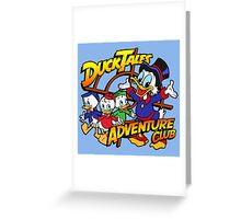 DuckTales Adventure Club Greeting Card