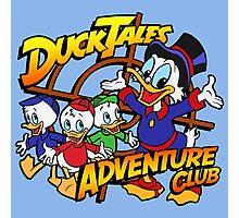 DuckTales Adventure Club Photographic Print