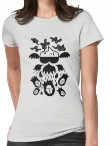 Top 'n' bottom Womens Fitted T-Shirt