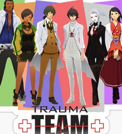 Trauma Team Sticker