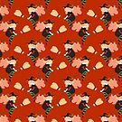 Cute Witch Pattern by SaradaBoru