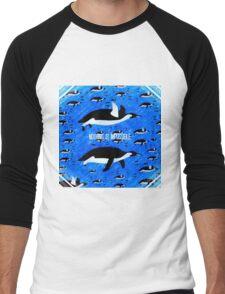 Flying Penguins Men's Baseball ¾ T-Shirt