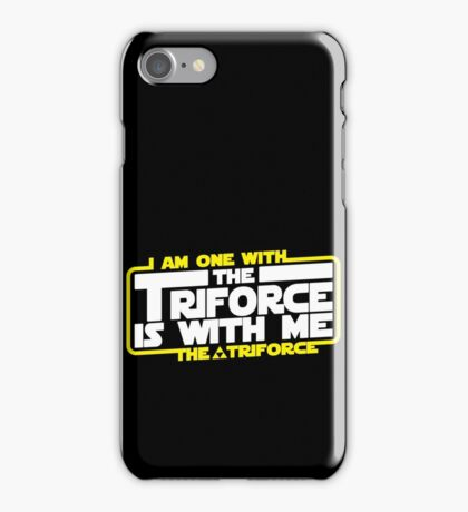 Triforce is with me! iPhone Case/Skin