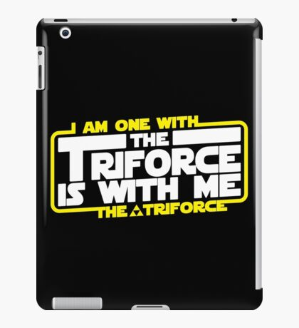 Triforce is with me! iPad Case/Skin