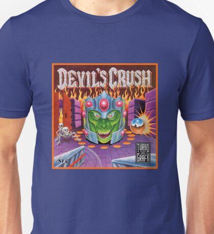 Devil's Crush - Turbografx Box Art Unisex T-Shirt