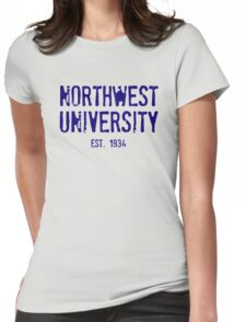 Northwest University Womens Fitted T-Shirt