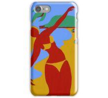 Gold Coast Red Bikini Girl iPhone Case/Skin