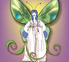 Madame Butterfly #4 • 2007 by Robyn Scafone