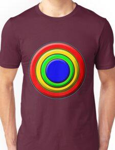 .Pattern A-8. .Full Size - Centered - Black. Unisex T-Shirt