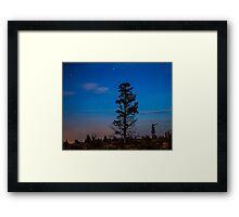 Night Scapes/Redmond Framed Print