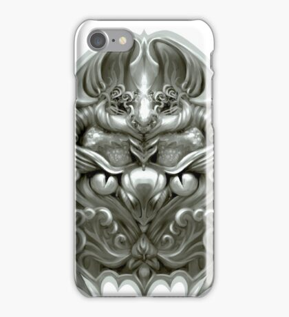 Silver bird iPhone Case/Skin