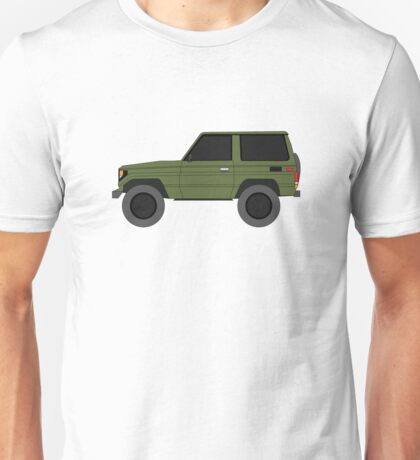 Toyota Land Cruiser BJ70  (machito) (renati.rzdm@gmail.com) Unisex T-Shirt