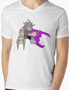Chibi 80's Shredder Mens V-Neck T-Shirt