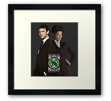 The Master & Missy: The Perfect Couple Framed Print